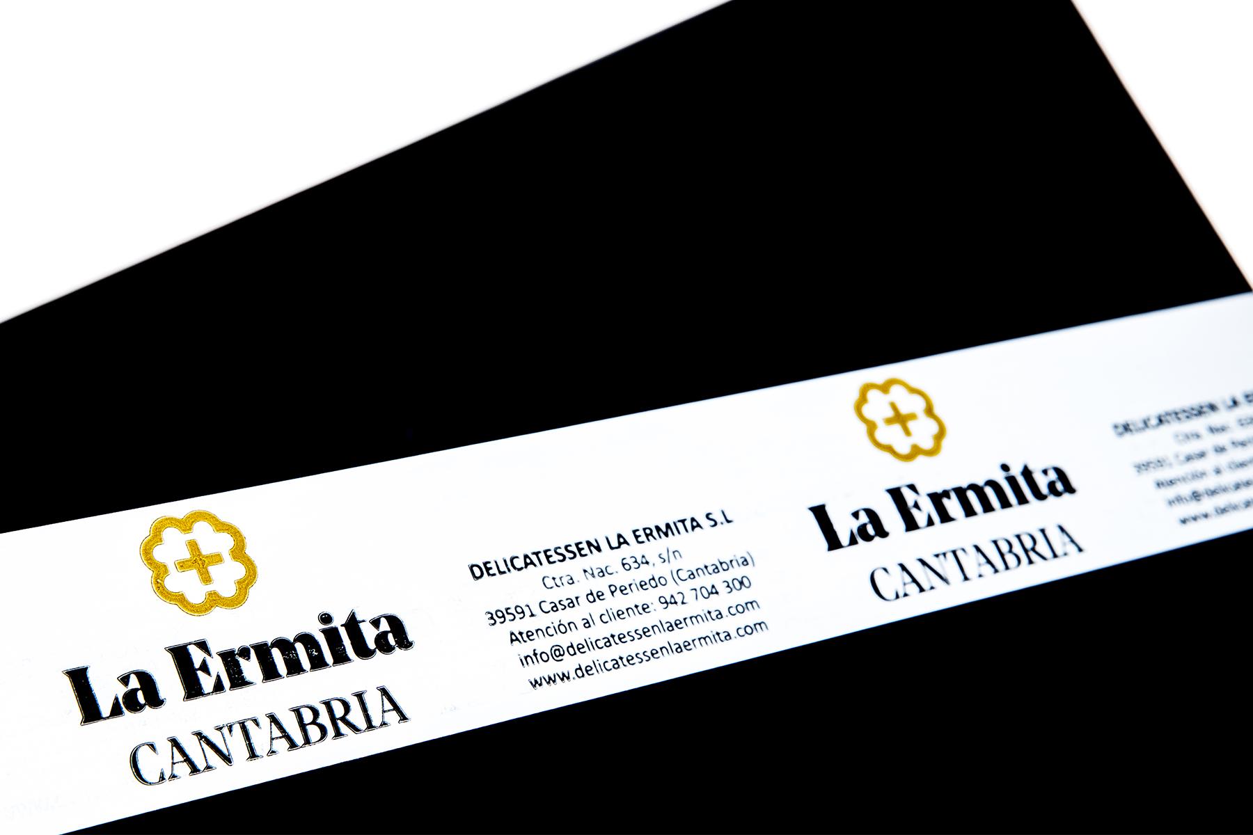 Cinta adhesiva personalizada La Ermita