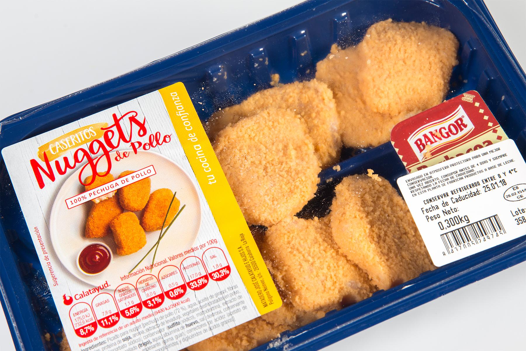 Etiqueta nuggets