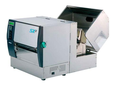 Máquina térmica industrial Toshiba SX8 abierta