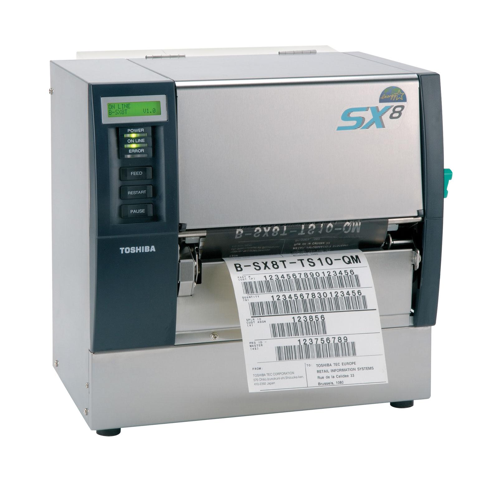 Máquina térmica industrial Toshiba SX8
